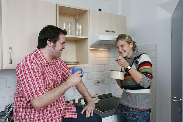 wohnungen f r 2 personen studentenwerk freiberg. Black Bedroom Furniture Sets. Home Design Ideas